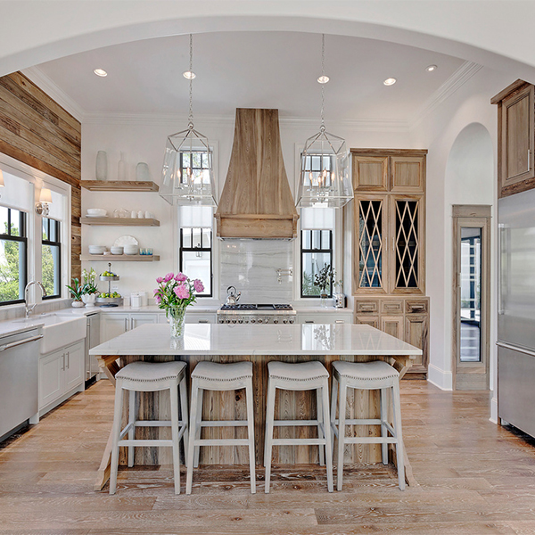 Neutral Light And Bright Farmhouse Kitchen Inspiration Our Signature Swag